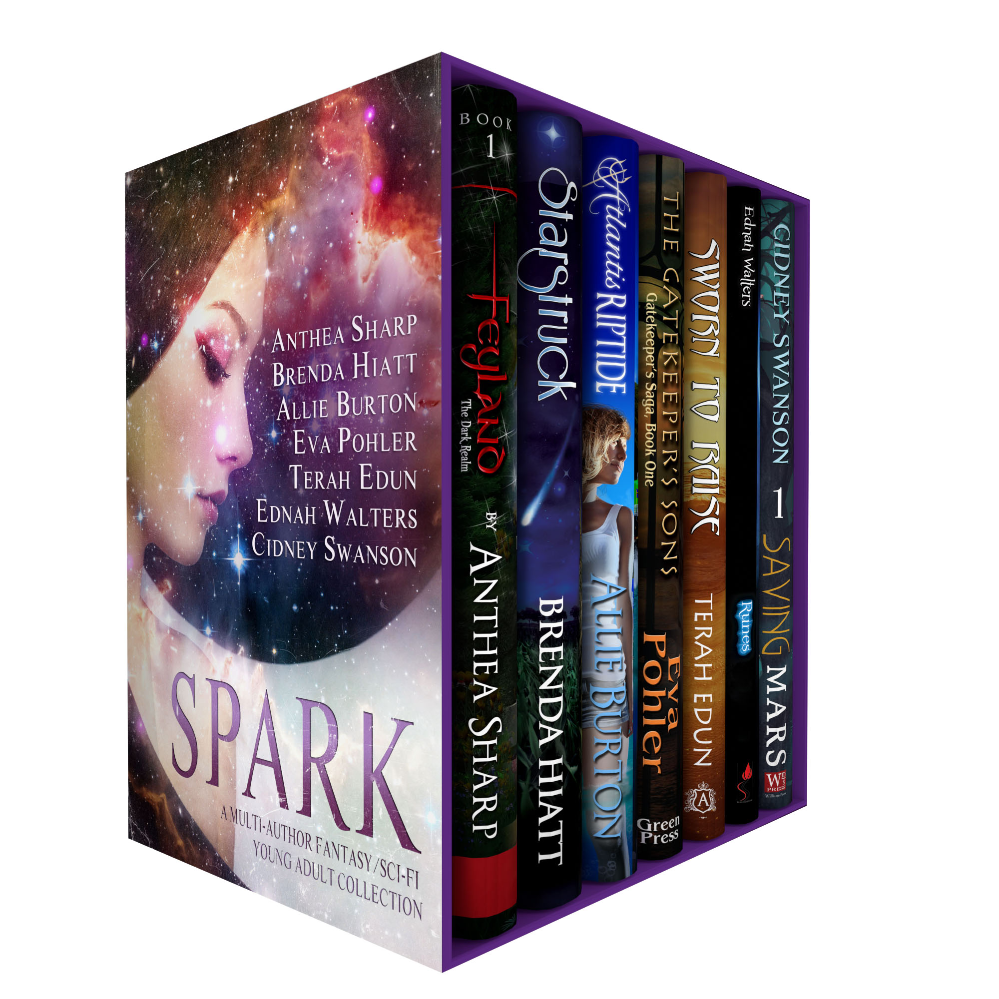 Spark: Seven Fantastic First-in-Series Novels